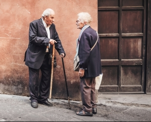 Photo by Cristina Gottardi on Unsplash - demonstrating one reason for functional incontinence (mobility issues)